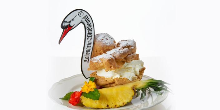 Windbeutel Ananas